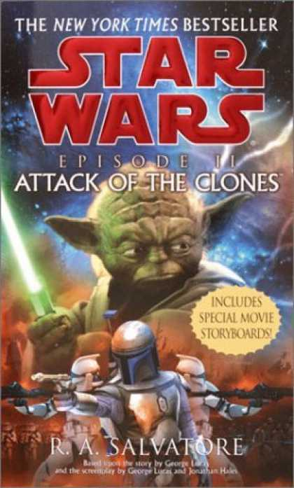 Bestselling Sci-Fi/ Fantasy (2006) - Star Wars, Episode II - Attack of the Clones