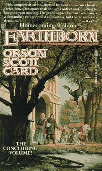 Bestselling Sci-Fi/ Fantasy (2006) - Earthborn (Homecoming Saga) by Orson Scott Card