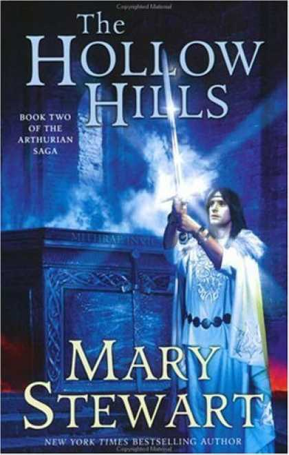 Bestselling Sci-Fi/ Fantasy (2006) - The Hollow Hills (The Arthurian Saga, Book 2) by Mary Stewart