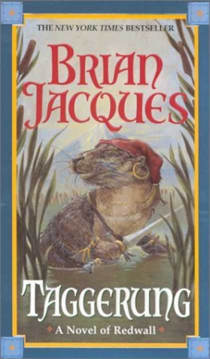Bestselling Sci-Fi/ Fantasy (2006) - Taggerung (Redwall, Book 14) by Brian Jacques