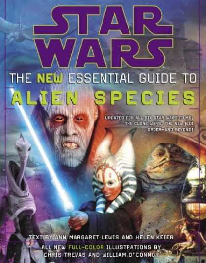 Bestselling Sci-Fi/ Fantasy (2006) - The New Essential Guide to Alien Species (Star Wars) by Ann Margaret Lewis