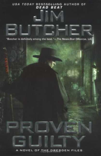 Bestselling Sci-Fi/ Fantasy (2006) - Proven Guilty (The Dresden Files, Book 8) by Jim Butcher