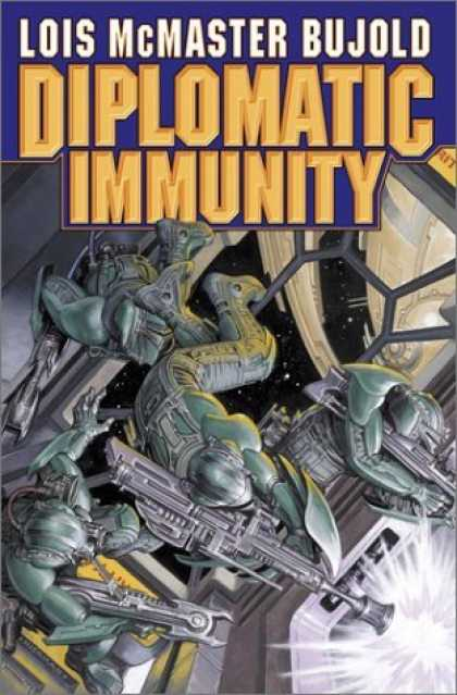 Bestselling Sci-Fi/ Fantasy (2006) - Diplomatic Immunity by Lois McMaster Bujold