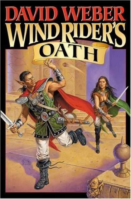 Bestselling Sci-Fi/ Fantasy (2006) - Wind Rider's Oath (The Bahzell) by David Weber