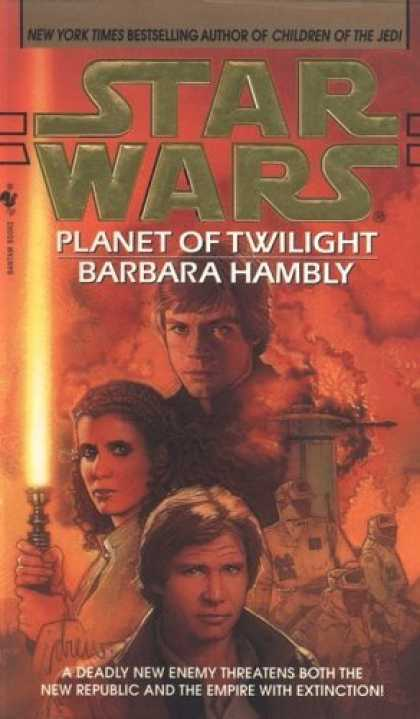 Bestselling Sci-Fi/ Fantasy (2006) - Planet of Twilight (Star Wars.) by Barbara Hambly