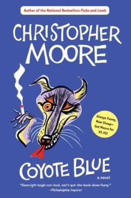 Bestselling Sci-Fi/ Fantasy (2006) - Coyote Blue by Christopher Moore