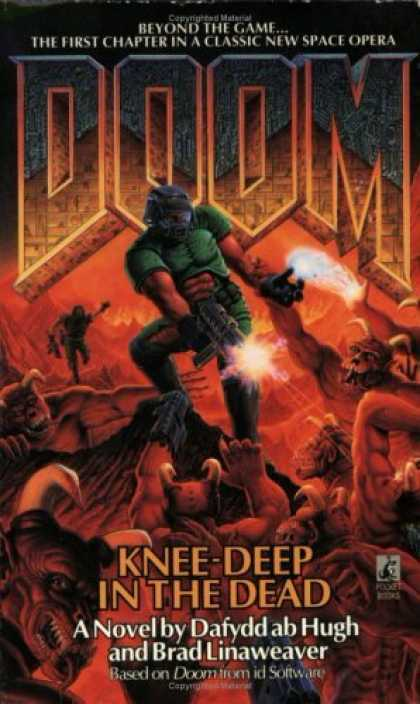 Bestselling Sci-Fi/ Fantasy (2006) - Knee-Deep in the Dead (Doom, Book 1) by Dafydd ab Hugh