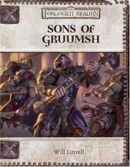 Bestselling Sci-Fi/ Fantasy (2006) - Sons of Gruumsh: A 4th-Level Adventure (Dungeons & Dragons: Forgotten Realms, Ca