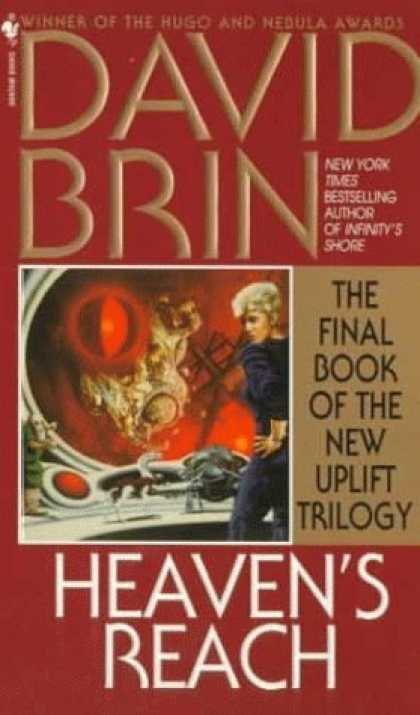 Bestselling Sci-Fi/ Fantasy (2006) - Heaven's Reach (The Uplift Saga, Book 6) by David Brin