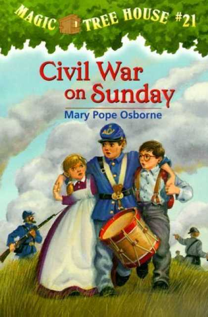 Bestselling Sci-Fi/ Fantasy (2006) - Civil War On Sunday (Magic Tree House 21, paper) by Mary Pope Osborne