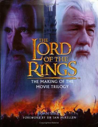 Bestselling Sci-Fi/ Fantasy (2006) - The Making of the Movie Trilogy (The Lord of the Rings) by Brian Sibley