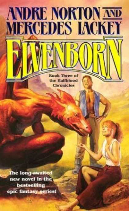 Bestselling Sci-Fi/ Fantasy (2006) - Elvenborn (Halfblood Chronicles) by Andre Norton