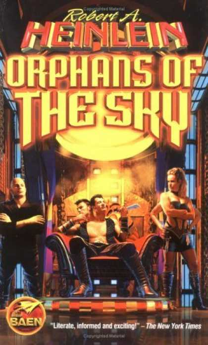 Bestselling Sci-Fi/ Fantasy (2006) - Orphans of the Sky by Robert A. Heinlein
