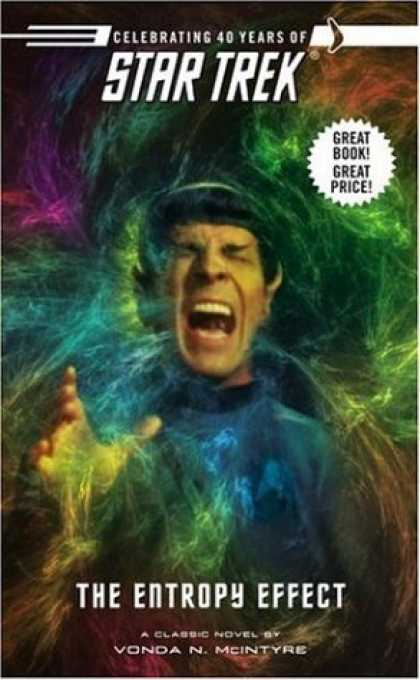 Bestselling Sci-Fi/ Fantasy (2006) - The Entropy Effect (Star Trek) by Vonda Mcintyre