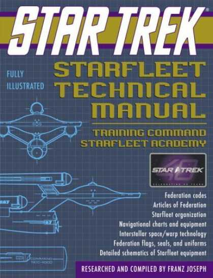 Bestselling Sci-Fi/ Fantasy (2006) - Star Trek Starfleet Technical Manual: Training Command Starfleet Academy (Star T