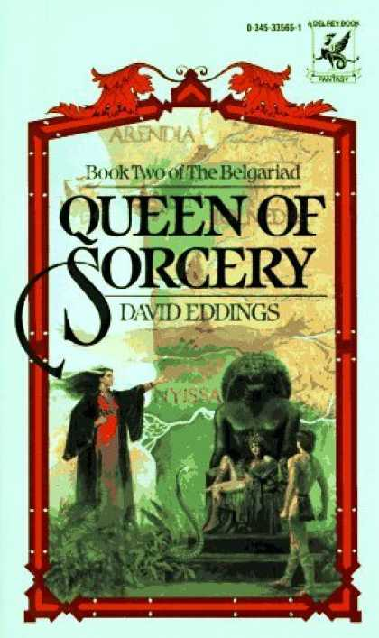 Bestselling Sci-Fi/ Fantasy (2006) - Queen of Sorcery (The Belgariad, Book 2) by David Eddings