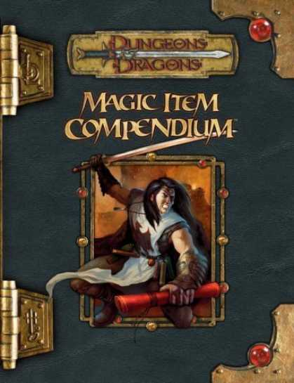 Bestselling Sci-Fi/ Fantasy (2006) - Magic Item Compendium (Dungeons & Dragons Supplement) by Wizards Team