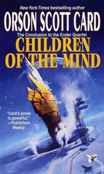 Bestselling Sci-Fi/ Fantasy (2006) - Children of the Mind (Ender, Book 4) (Ender Quartet) by Orson Scott Card