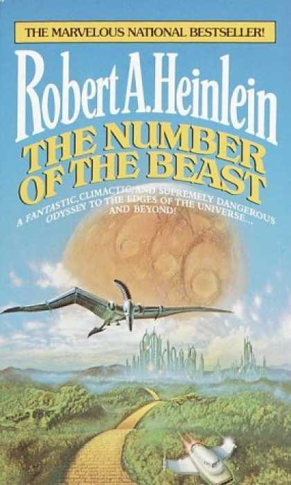 Bestselling Sci-Fi/ Fantasy (2006) - Number of the Beast by Robert A. Heinlein