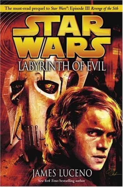 Bestselling Sci-Fi/ Fantasy (2006) - Labyrinth of Evil (Star Wars, Episode III Prequel Novel) by James Luceno