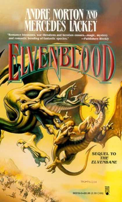 Bestselling Sci-Fi/ Fantasy (2006) - Elvenblood (Halfblood Chronicles) by Andre Norton