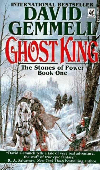 Bestselling Sci-Fi/ Fantasy (2006) - Ghost King (Stones of Power) by David Gemmell
