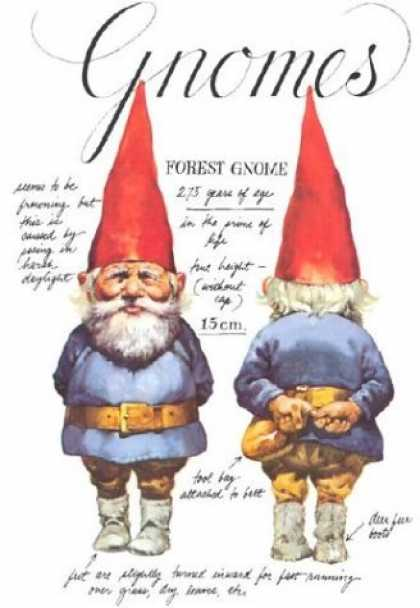 Bestselling Sci-Fi/ Fantasy (2006) - Gnomes by Wil Huygen