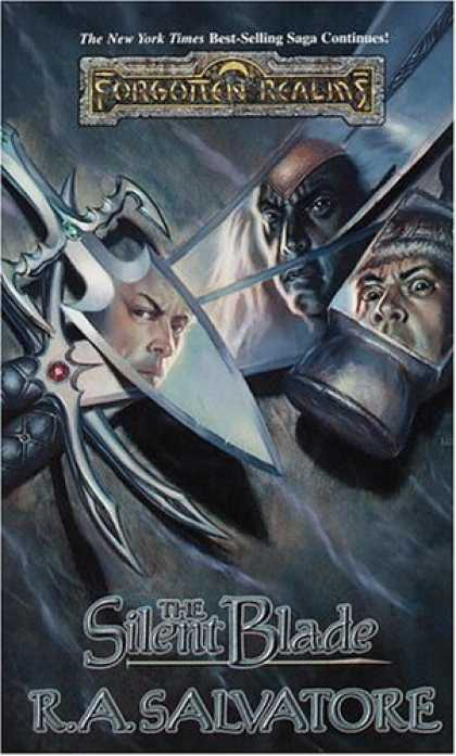 Bestselling Sci-Fi/ Fantasy (2006) - The Silent Blade (Forgotten Realms: Paths of Darkness, Book 1) by R. A. Salvato