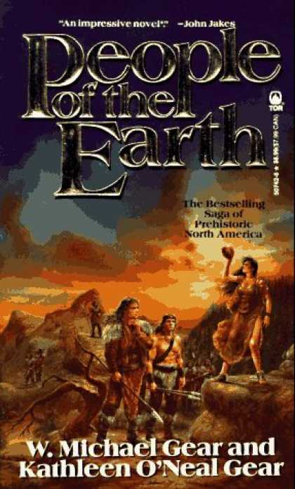 Bestselling Sci-Fi/ Fantasy (2006) - People of the Earth (The First North Americans series, Book 3) by Kathleen O'Nea