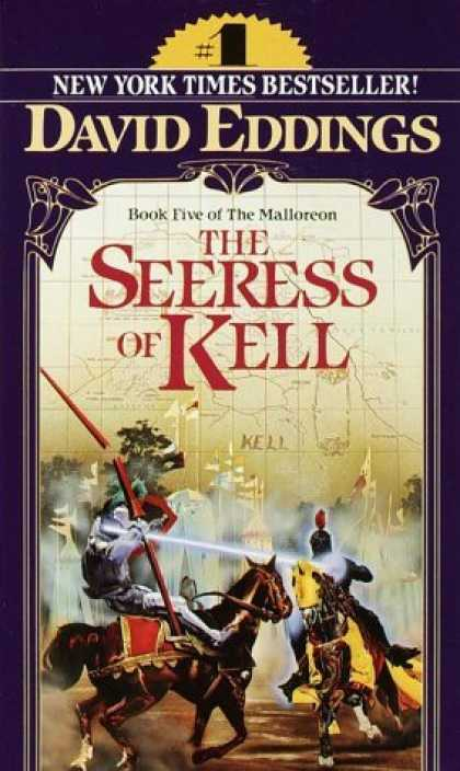 Bestselling Sci-Fi/ Fantasy (2006) - The Seeress of Kell (The Malloreon, Book 5) by David Eddings