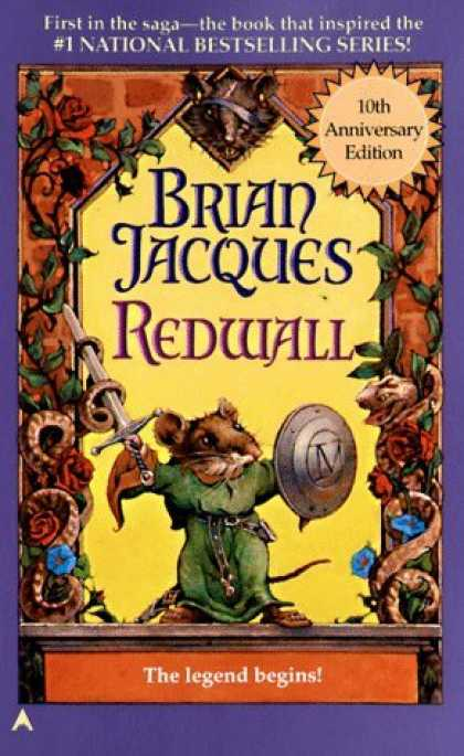 Bestselling Sci-Fi/ Fantasy (2006) - Redwall (Redwall, Book 1) by Brian Jacques