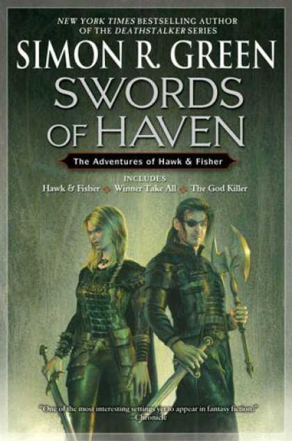 Bestselling Sci-Fi/ Fantasy (2006) - Swords of Haven: The Adventures of Hawk & Fisher (Hawk & Fisher Omnibus) by Simo