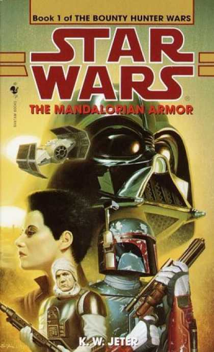 Bestselling Sci-Fi/ Fantasy (2006) - The Mandalorian Armor: Star Wars: The Bounty Hunter Wars, Book I (Star Wars.) by