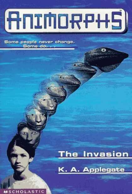 Bestselling Sci-Fi/ Fantasy (2006) - The Invasion (Animorphs #1) by K.A. Applegate
