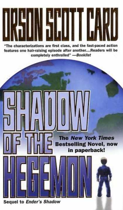 Bestselling Sci-Fi/ Fantasy (2006) - Shadow of the Hegemon (Ender, Book 6) by Orson Scott Card
