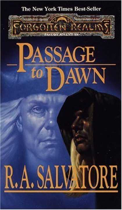 Bestselling Sci-Fi/ Fantasy (2006) - Passage to Dawn (Forgotten Realms: Legacy of the Drow, Book 4) by R. A. Salvato