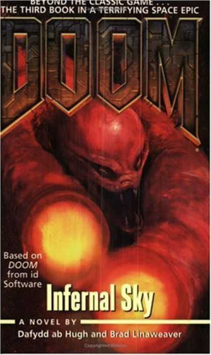 Bestselling Sci-Fi/ Fantasy (2006) - Infernal Sky (Doom) by Dafydd ab Hugh