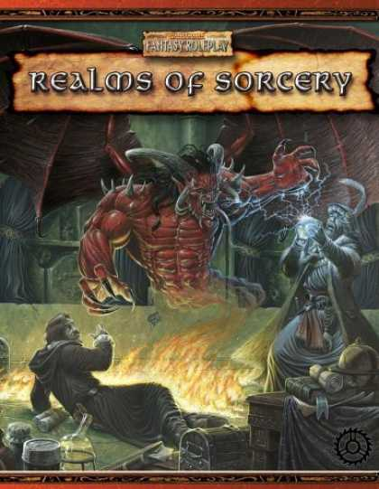 Bestselling Sci-Fi/ Fantasy (2006) - Warhammer Fantasy Roleplaying - Realms of Sorcery by Green Ronin