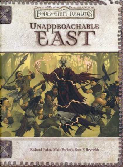Bestselling Sci-Fi/ Fantasy (2006) - Unapproachable East (Dungeons & Dragons: Forgotten Realms, Campaign Accessory) b