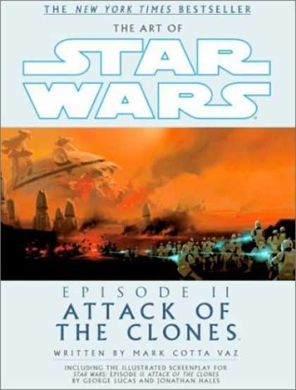 Bestselling Sci-Fi/ Fantasy (2006) - The Art of Star Wars, Episode II - Attack of the Clones by Mark Vaz