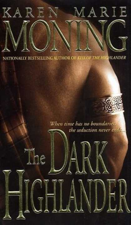 Bestselling Sci-Fi/ Fantasy (2006) - The Dark Highlander by Karen Marie Moning