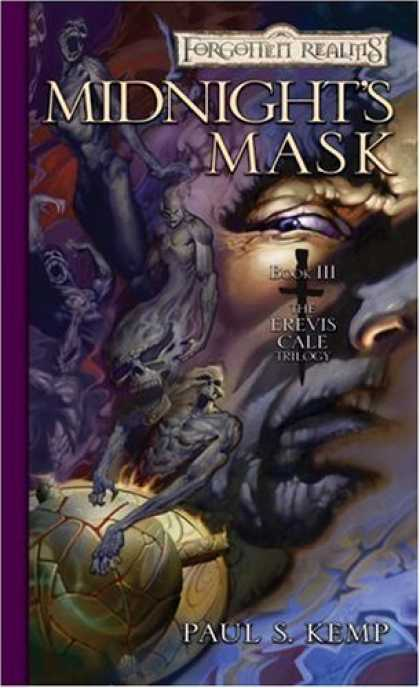 Bestselling Sci-Fi/ Fantasy (2006) - Midnight's Mask (Forgotten Realms: The Erevis Cale Trilogy, Book 3) by Paul S. K