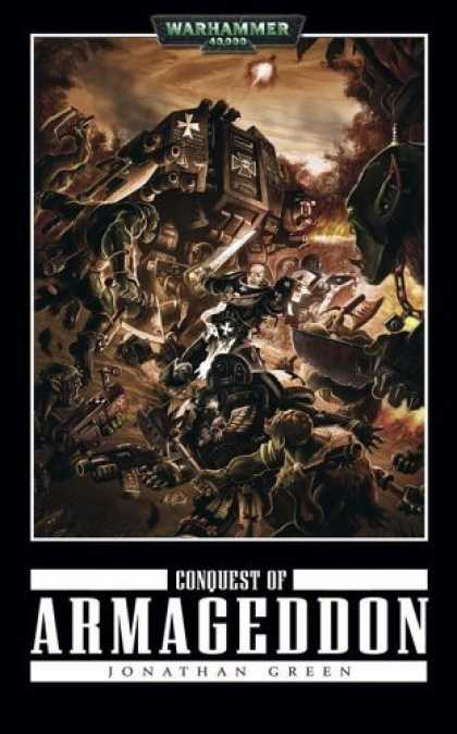 Bestselling Sci-Fi/ Fantasy (2006) - Conquest of Armageddon (Warhammer, Black Templars) by Jonathan Green