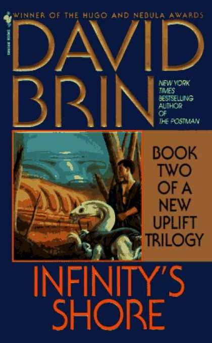 Bestselling Sci-Fi/ Fantasy (2006) - Infinity's Shore (The Uplift Saga, Book 5) by David Brin
