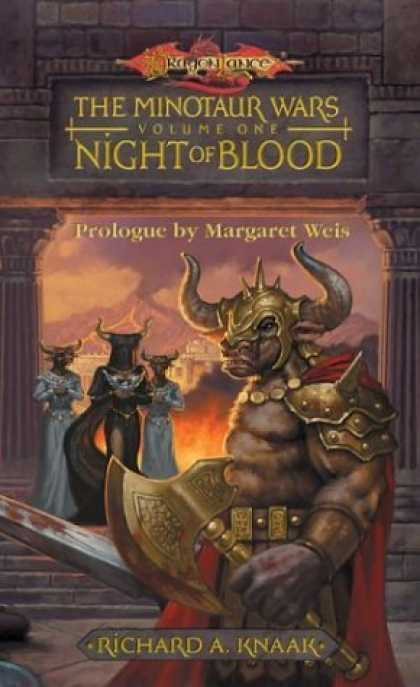 Bestselling Sci-Fi/ Fantasy (2006) - Night of Blood (Dragonlance: The Minotaur Wars, Book 1) by Richard A. Knaak