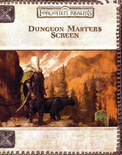 Bestselling Sci-Fi/ Fantasy (2006) - Dungeon Master's Screen (Dungeons & Dragons: Forgotten Realms, Campaign Accessor