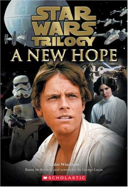 Bestselling Sci-Fi/ Fantasy (2006) - Star Wars, Episode IV - A New Hope (Junior Novelization) by Ryder Windham