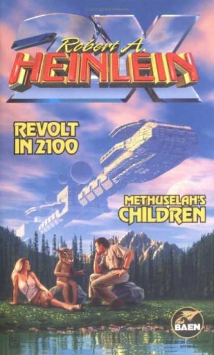 Bestselling Sci-Fi/ Fantasy (2006) - Revolt in 2100 & Methuselah's Children by Robert A. Heinlein