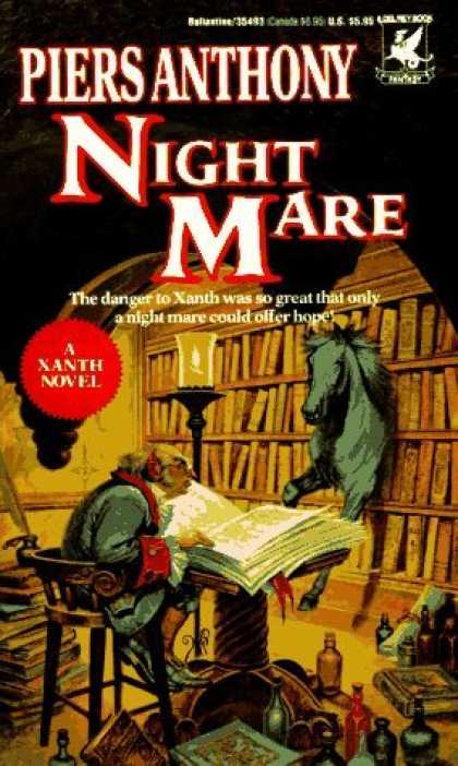 Bestselling Sci-Fi/ Fantasy (2006) - Night Mare (Xanth Novels (Paperback)) by Piers Anthony
