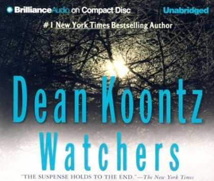 Bestselling Sci-Fi/ Fantasy (2006) - Watchers (Brilliance Audio on Compact Disc) by Dean Koontz